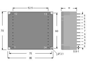 UI48 dimensioni - dimensions