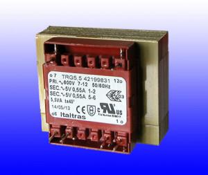 Trasformatore a giorno da circuito stampato Open transformers for PCB